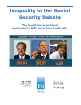 Inequality in the Social Security Debate