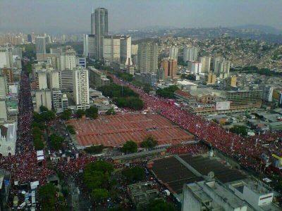 Venezuela mass march