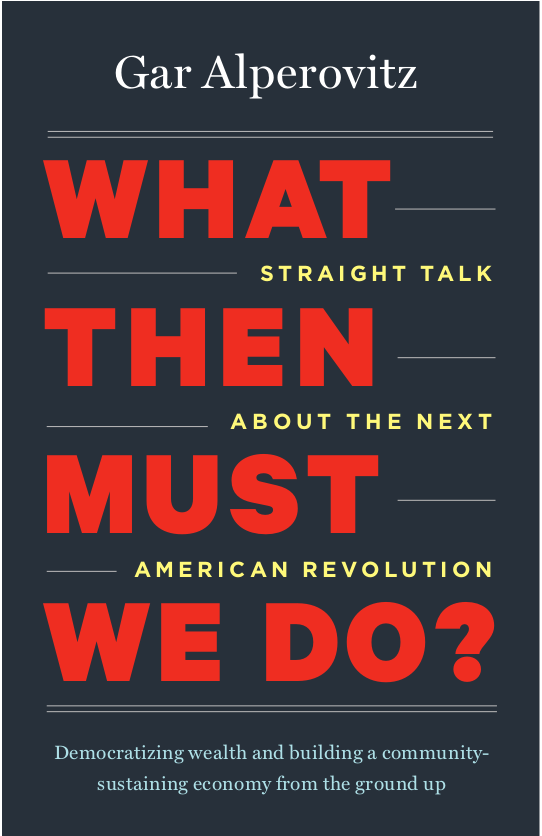 Author Event: What Then Must We Do?