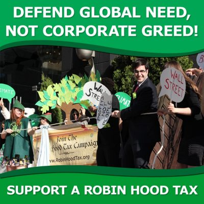 Robin Hood Tax Action, Washington DC