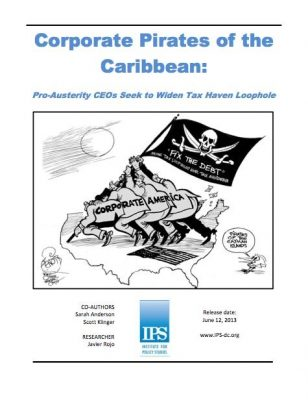 Pirates of the Carribbean report cover