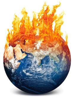 The earth on fire, climate change worsening, as World Bank phases out of coal and toward