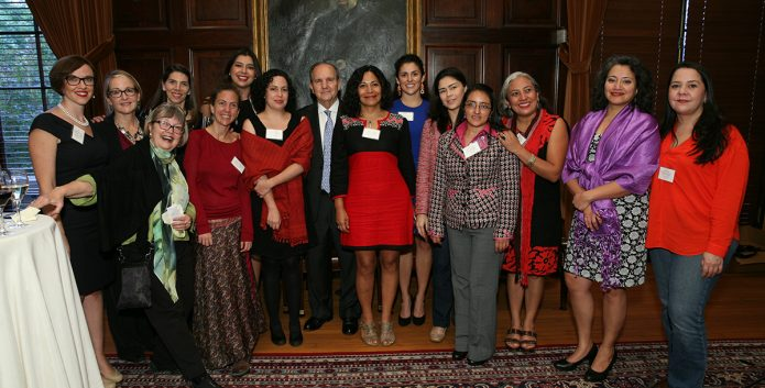 2014 Letelier-Moffitt Awardees Robin Reineke, the Mesoamerican Initiative of Women Human Rights Defenders, and Juan E. Méndez