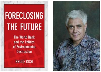 photo of Bruce Rich and book cover