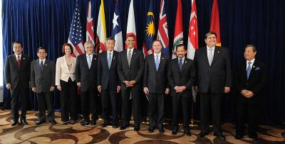 world leaders of TPP