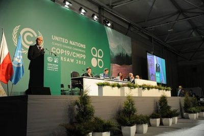 Opening statement by the President of COP19 Mr. Marcin Korolec (UNclimatechange/flickr)