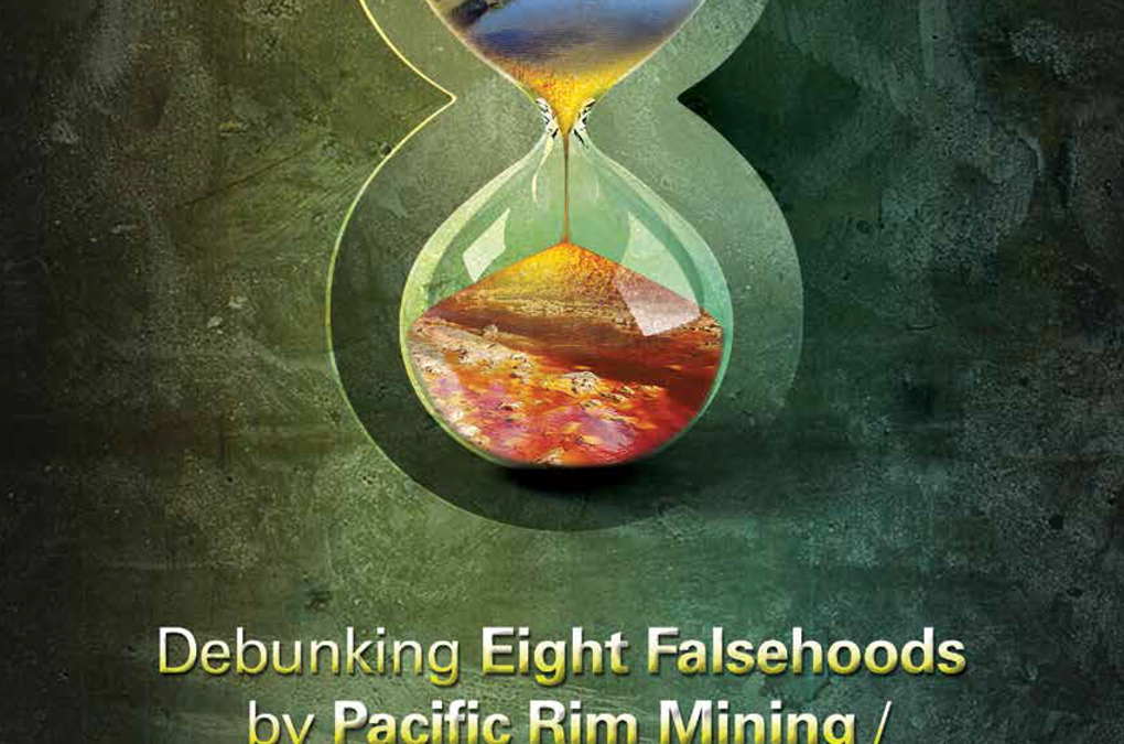 Debunking Eight Falsehoods by Pacific Rim Mining / OceanaGold in El Salvador