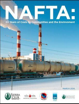 NAFTA report cover