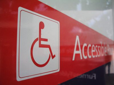 Handicap Accessibility Sign