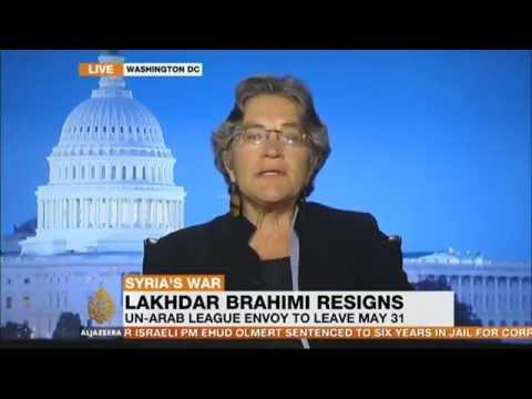 Syria and the resignation of Lakhdar Brahimi