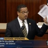 Keith Ellison Defense Spending Congress