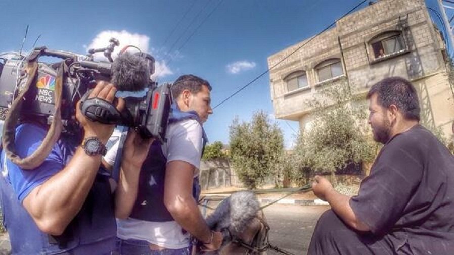 NBC Pulls Its Best Journalist from Gaza Just as Israel Invades