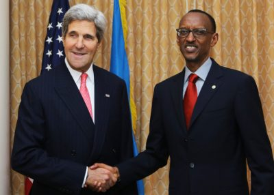 Kerry And Kagame 400x286
