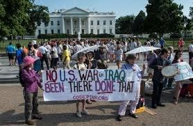 Codepink Iraq protest