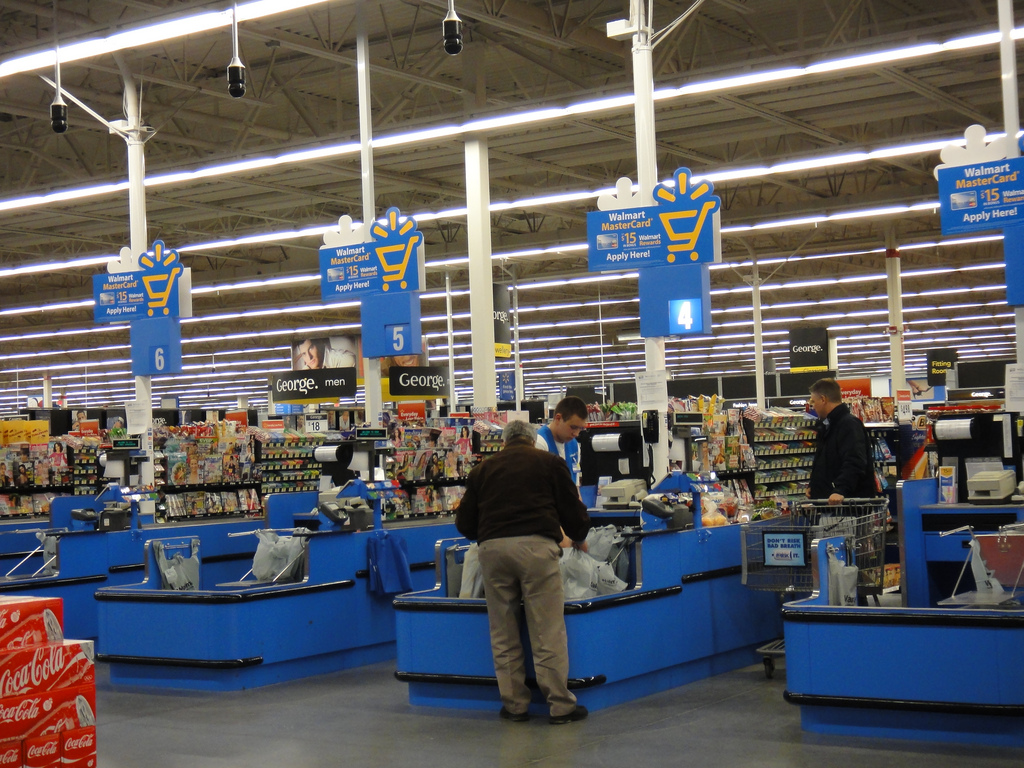 Image Gallery Walmart Checkout