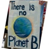 There is No Planet B - photo of sign