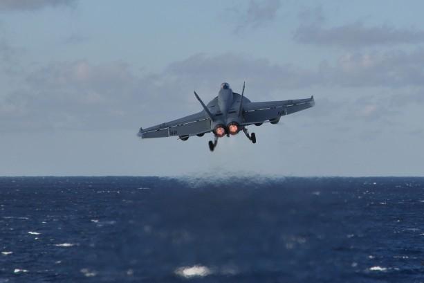 U.S. Navy fighter jet