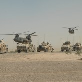 U.S. army vehicles Iraq