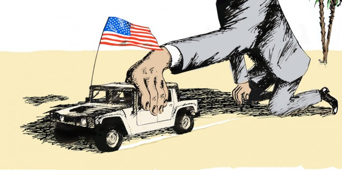 U.S. military aggression