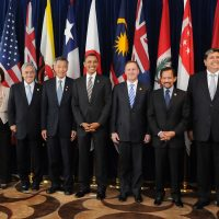 President Obama and TPP Leaders