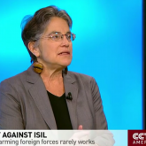Phyllis Bennis on CCTV discussing the CIA's new report.