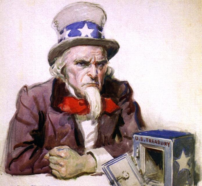 Uncle Sam is broke
