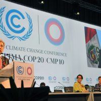 UN Climate Change Conference COP20 Inauguration