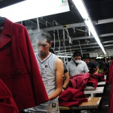 Garment factory workers in Guatemala