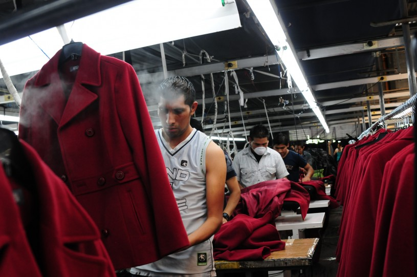 Garment factory workers in Guatemala.