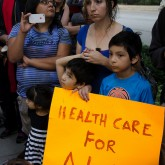 Health care protest