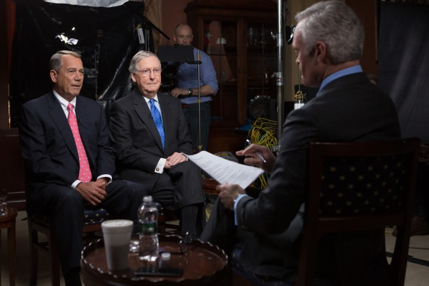 John Boehner and Mitch McConnell on 60 Minutes