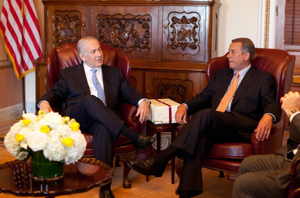 Boehner Invites Netanyahu to U.S. Congress Without Consulting the White House