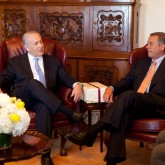 Boehner and Netanyahu meeting