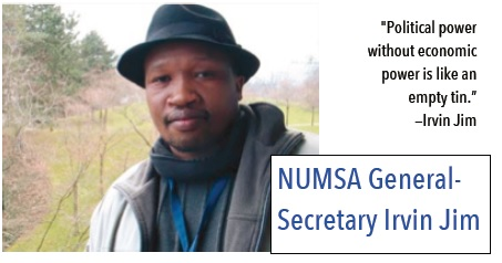 South African Labor Leader Talks About NUMSA