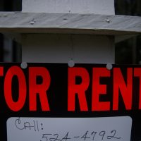 """For Rent"" Sign"
