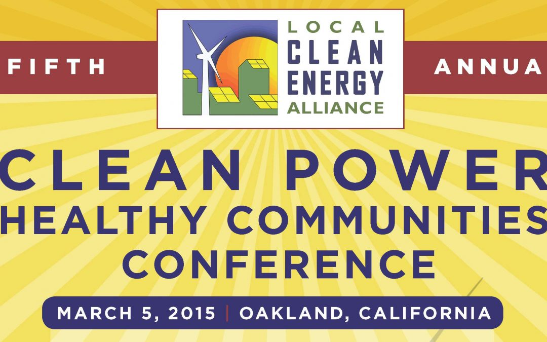 Fifth Annual Clean Power, Healthy Communities Conference