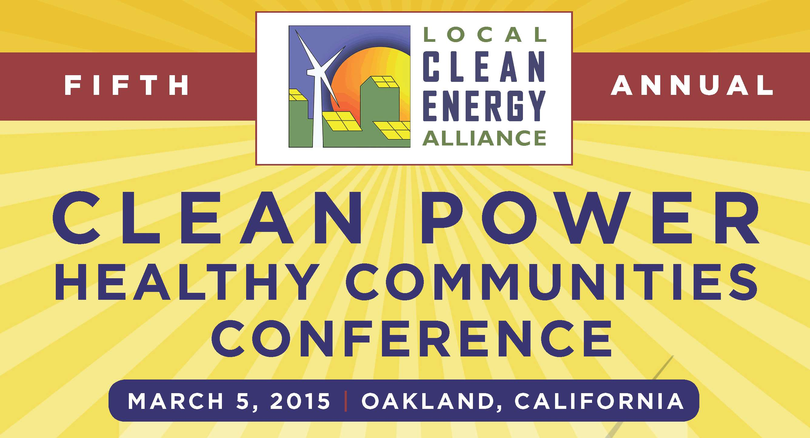 Clean Power, Healthy Communities Conference