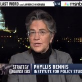 Phyllis Bennis on MSNBC's The Last Word discussing ISIS.