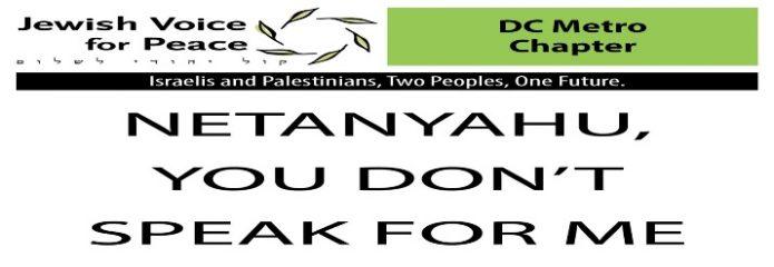 Protest Netanyahu speech to Congress