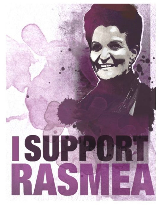 Rasmea Odeh support event