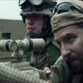 "Bradley Cooper as ""American Sniper"" Chris Kyle"