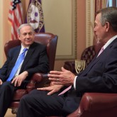 Israeli PM Netanyahu with Speaker John Boehner
