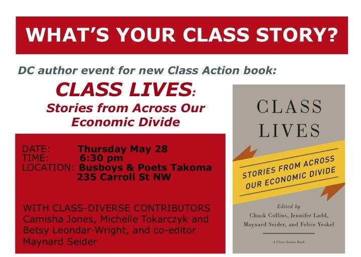 Author Event: Class Lives