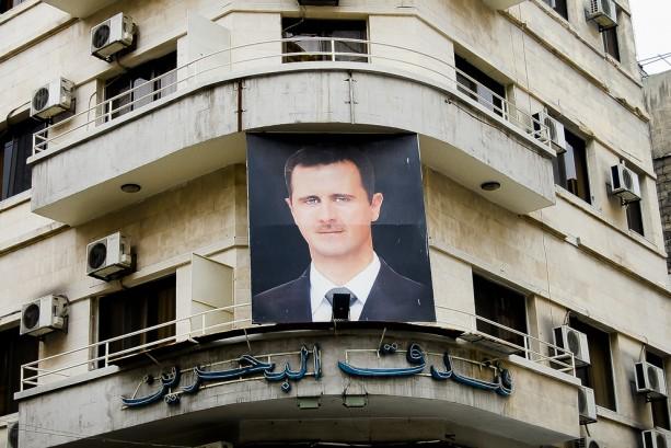 Bashar Al Assad poster