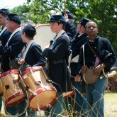 civil-war-reenactment-drummer-boys