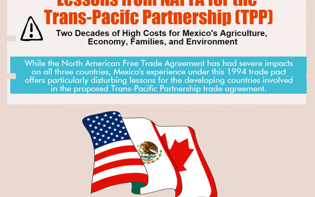 Infographic: Lessons from NAFTA for the Trans-Pacific Partnership