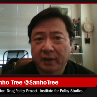 Sanho Tree talks about drug policy.