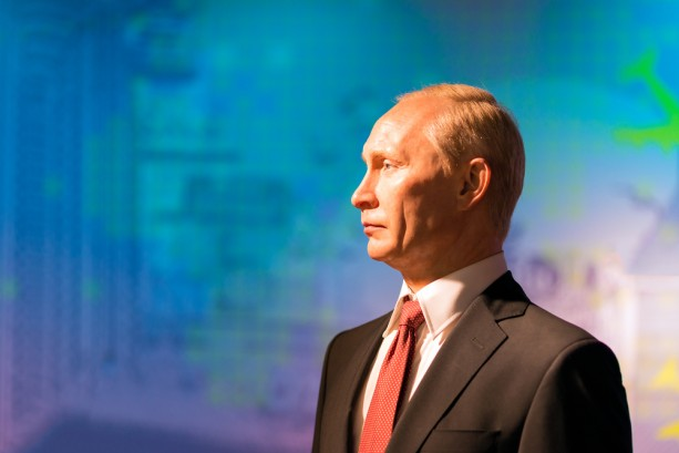 Putin world backdrop