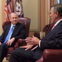 Rep. Boehner and PM Benjamin Netanyahu