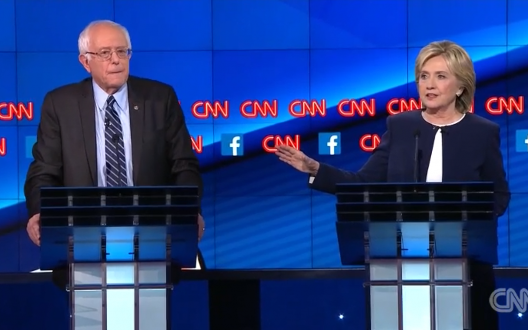 Seven Substantive Issues That Divide the Democratic Candidates